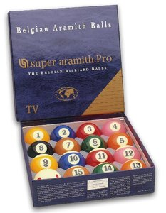 Pool-baller Super Aramith pro TV
