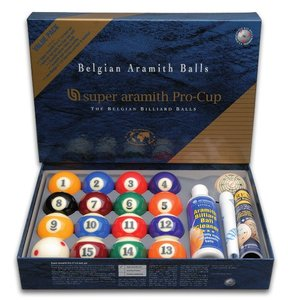 Pool-baller Super Aramith pro Value Pack